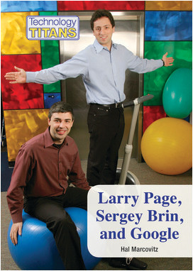Cover: Larry Page, Sergey Brin, and Google