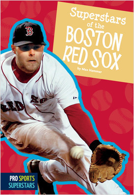 Cover: Superstars of the Boston Red Sox