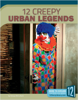 Cover: 12 Creepy Urban Legends