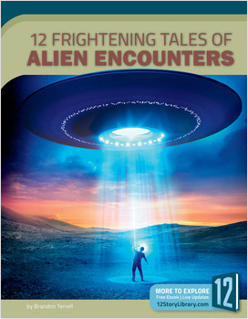 Cover: 12 Frightening Tales of Alien Encounters