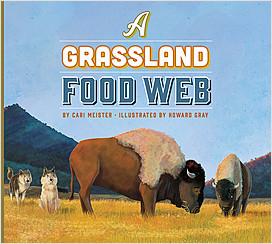 Cover: A Grassland Food Web