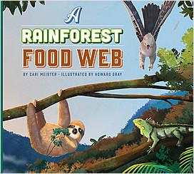 Cover: A Rainforest Food Web
