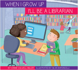 Cover: I'll Be a Librarian