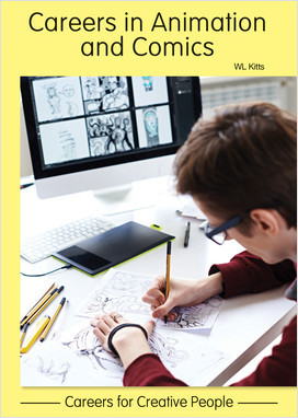 Cover: Careers in Animationand Comics