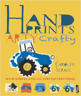 Cover: Arty Crafty: Handprints