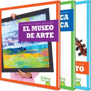 Cover: Los primeros viajes escolares (First Field Trips)