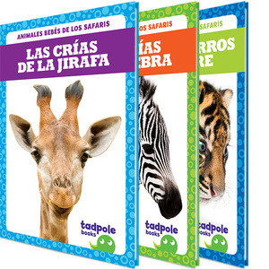 Cover: Animales bebés de los safaris (Safari Babies)
