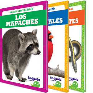 Cover: Animales en tu jardín (Backyard Animals)