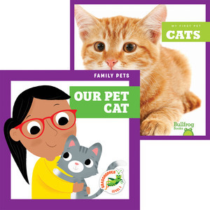 Cover: Cats + Our Pet Cat