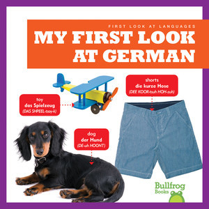 Cover: My First Look at German