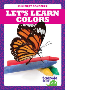 Cover: Let's Learn Colors
