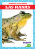 Cover: Las ranas (Frogs)