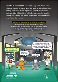 A Garfield Guide To Online Friends Not Lerner Publishing Group