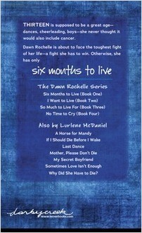 Six Months to Live: The Dawn Rochelle - Lerner Publishing Group