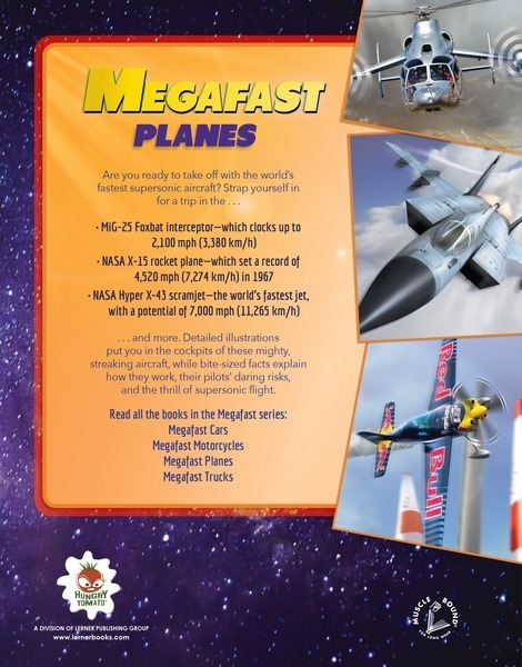 Megafast Planes - Lerner Publishing Group