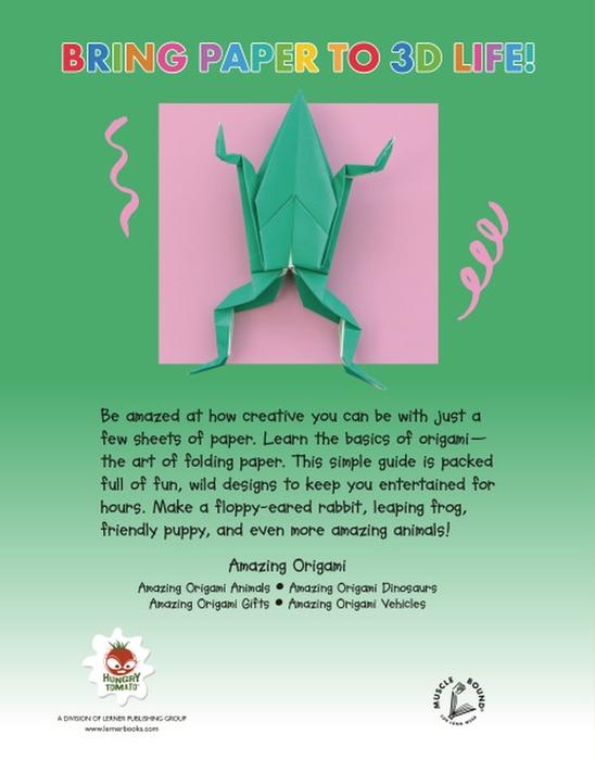 Amazing Origami Animals - Lerner Publishing Group