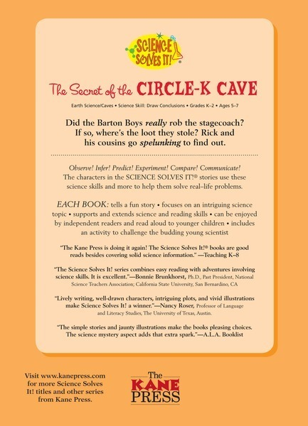 The Secret of the Circle-K Cave: Caves - Lerner Publishing Group