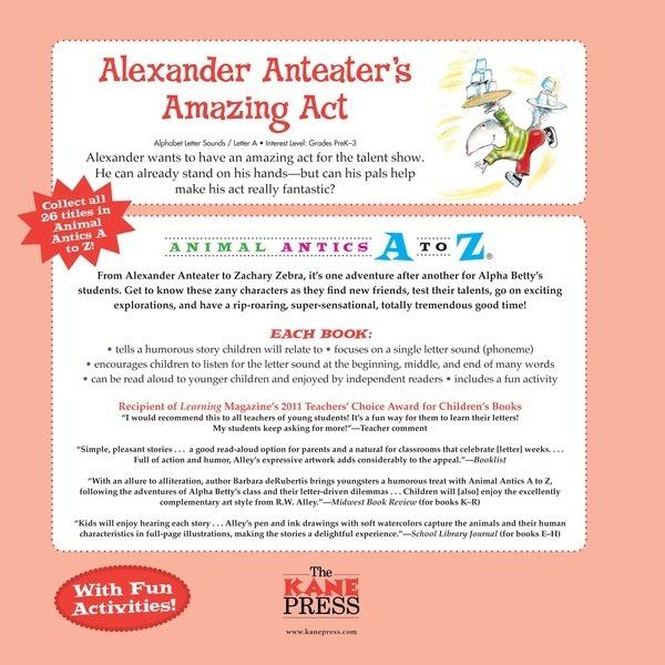 Alexander Anteater's Amazing Act - Lerner Publishing Group