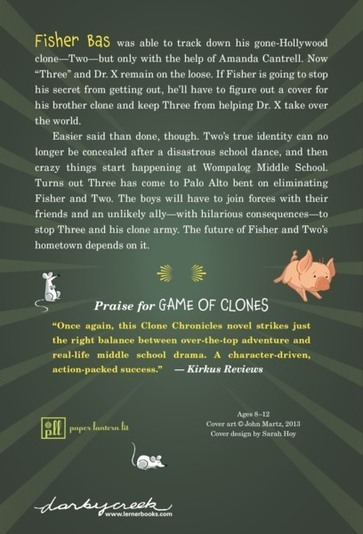 Once Driven Reviews >> Game Of Clones Lerner Publishing Group