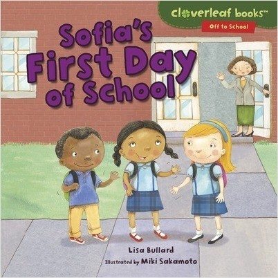 Cover: Sofia's First Day of School