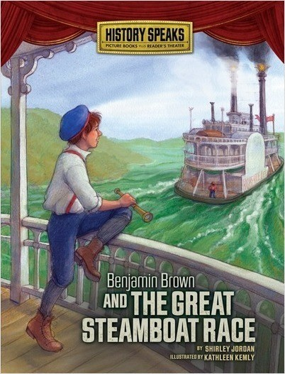 Cover: Benjamin Brown and the Great Steamboat Race