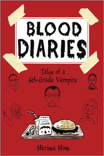Cover: Blood Diaries: Tales of a 6th-Grade Vampire