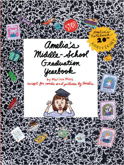 Cover: Amelia's Middle-School Graduation Yearbook