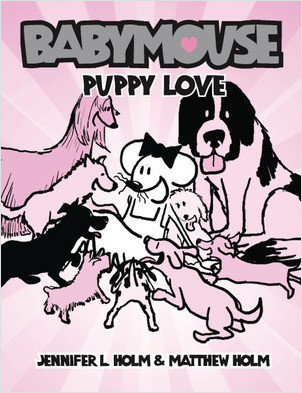 Cover: Babymouse #8: Puppy Love