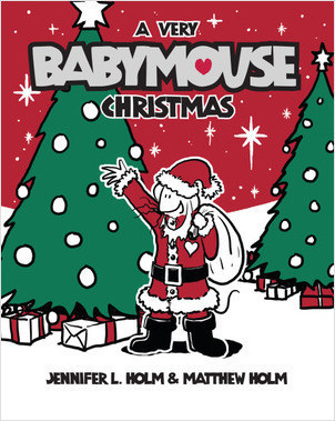 Cover: Babymouse #15: A Very Babymouse Christmas