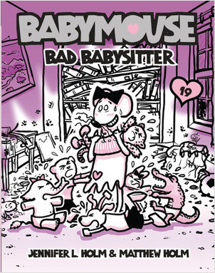 Cover: Babymouse #19: Bad Babysitter