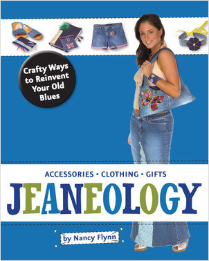 Cover: Jeaneology: Crafty Ways to Reinvent Your Old Blues