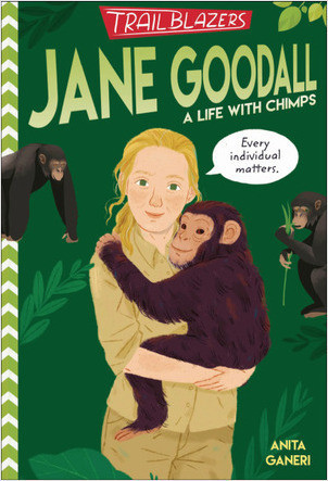 Cover: Trailblazers: Jane Goodall: A Life with Chimps