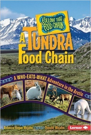 Cover: A Tundra Food Chain: A Who-Eats-What Adventure in the Arctic