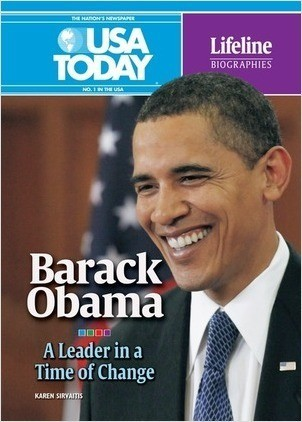 Cover: Barack Obama: A Leader in a Time of Change