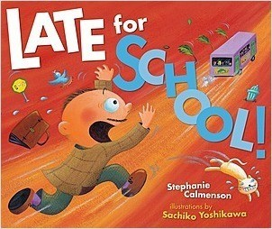 Cover: Late for School!