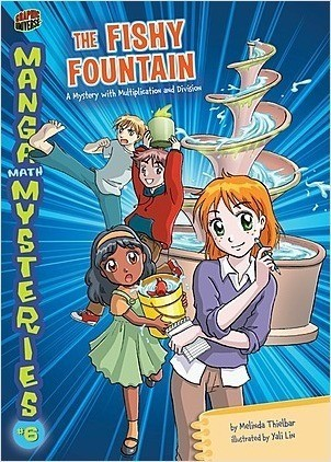 Cover: The Fishy Fountain: A Mystery with Multiplication and Division