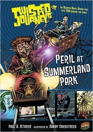 Cover: Peril at Summerland Park: Book 20