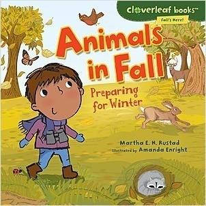 Cover: Cloverleaf Books ™ — Fall's Here! — Interactive Books Set