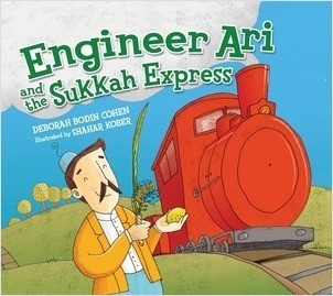 Cover: Engineer Ari and the Sukkah Express