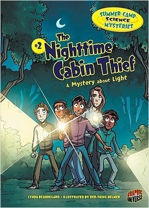 Cover: The Nighttime Cabin Thief: A Mystery about Light