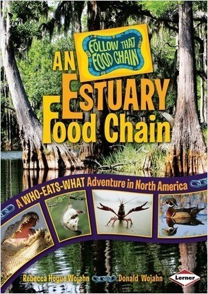 Cover: An Estuary Food Chain: A Who-Eats-What Adventure in North America