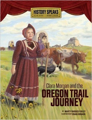 Cover: Clara Morgan and the Oregon Trail Journey