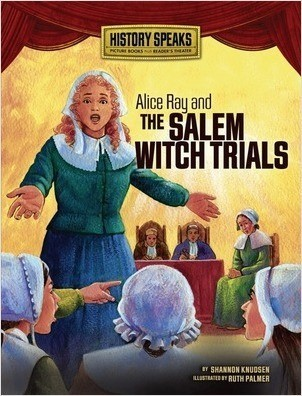 Cover: Alice Ray and the Salem Witch Trials