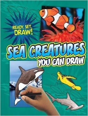 Cover: Sea Creatures You Can Draw