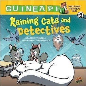 Cover: Raining Cats and Detectives: Book 5