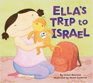 Cover: Ella's Trip to Israel