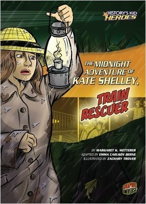 Cover: The Midnight Adventure of Kate Shelley, Train Rescuer