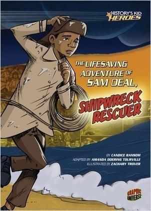 Cover: The Lifesaving Adventure of Sam Deal, Shipwreck Rescuer