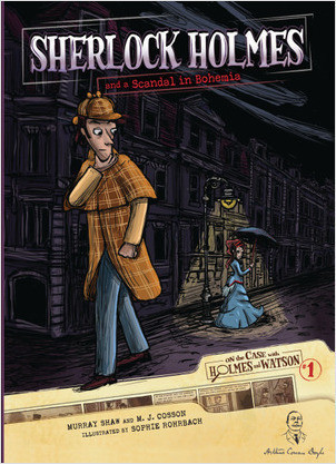 Cover: Sherlock Holmes and a Scandal in Bohemia: Case 1