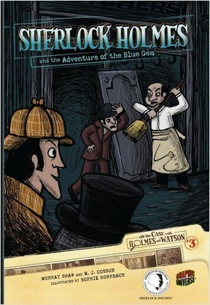 Cover: Sherlock Holmes and the Adventure of the Blue Gem: Case 3